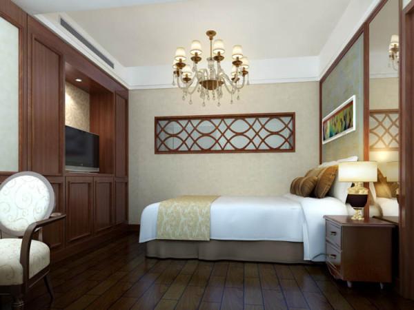 京贸国际城--L户型小卧室效果图