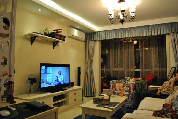 金蝉南里小区--客厅实景图