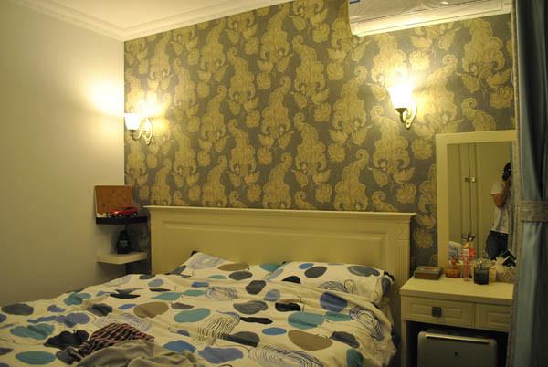 金蝉南里小区--卧室实景图