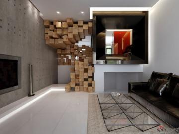 280 平超富空间感公寓