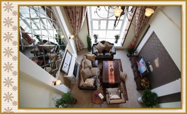 东方夏威夷大岛R-2--一层客厅实景图
