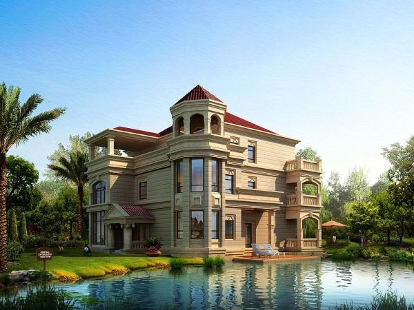 欧式 美式 混搭 别墅 土豪 其他图片来自武汉实创装饰在自建550平别墅图片
