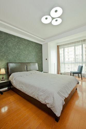 主卧室(卧室装修效果图)宽敞明亮,看不出只有50多平。