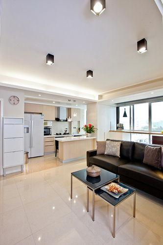 做成开放式厨房(厨房装修效果图)主要是为了让空间看着更大。