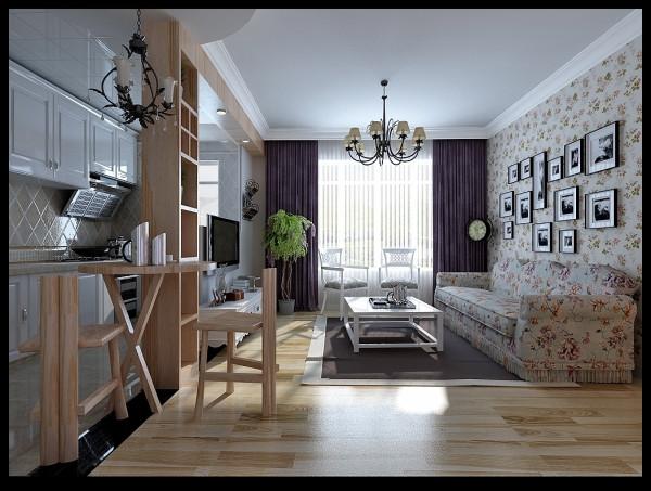 现代田园风格-客厅设计
