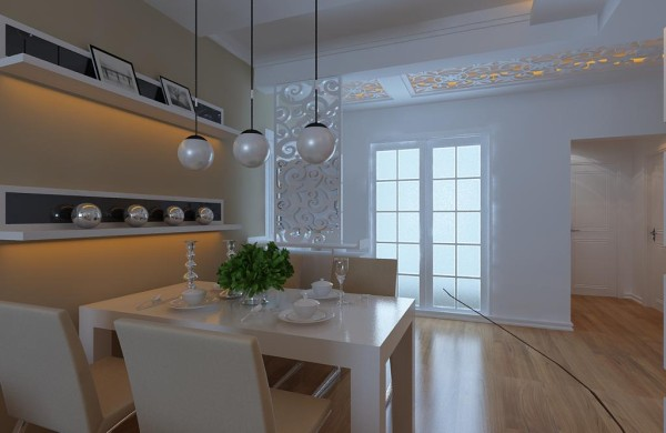 现代风格设计-餐厅效果