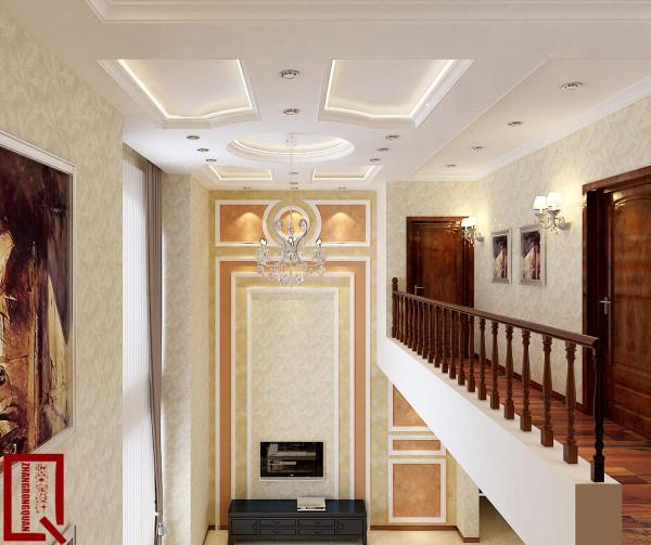 欧式风格-电视背景墙设计