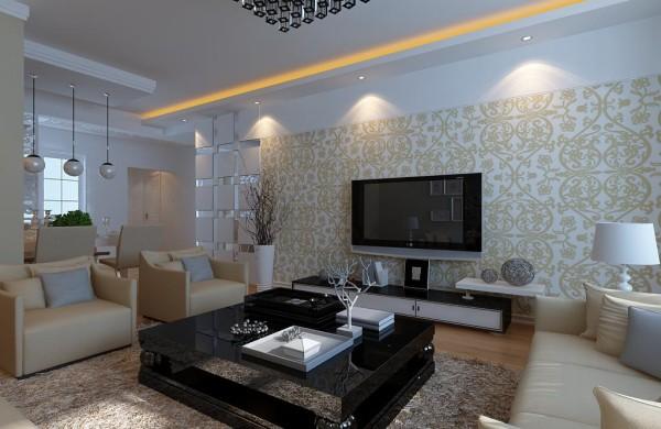 现代风格设计-客厅效果