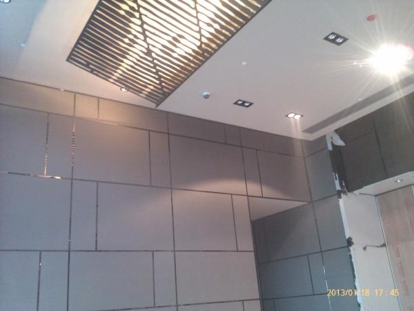 墙面硬包装饰完工效果