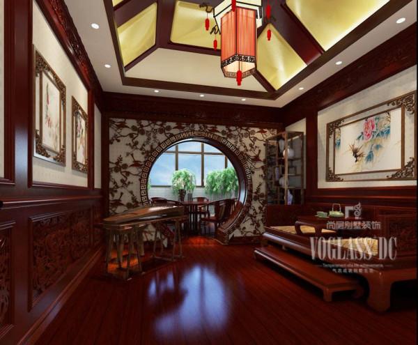 中式休闲室