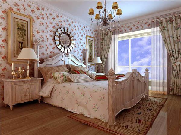 领秀慧谷--C4户型卧室效果图