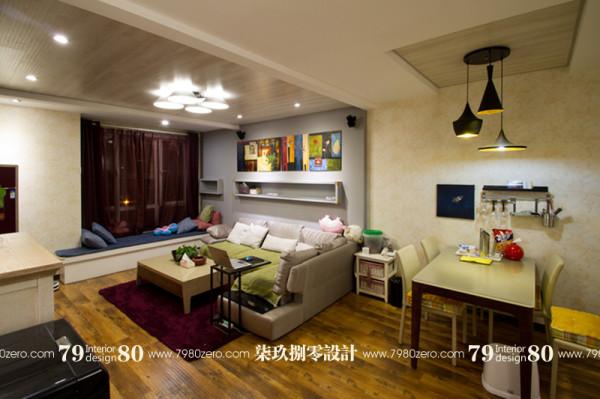 七九八零,客厅设计,北京七九八零室内设计工作室,现代简约设计,旧房改造 ,