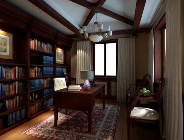 龙湖滟澜山 书房