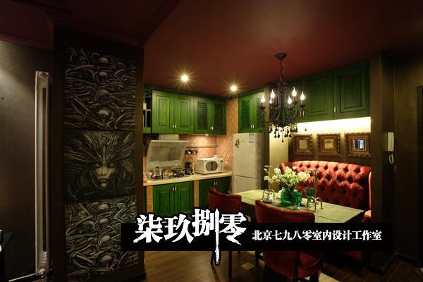 北京七九八零室内设计工作室 小户型设计,现代混搭 ,厨房设计 ,卫生间设计