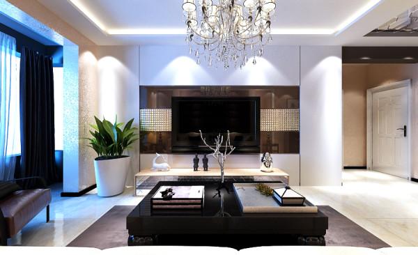 后现代风格设计-电视背景墙设计效果