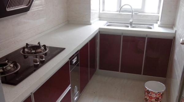 87平米简约装修厨房效果图