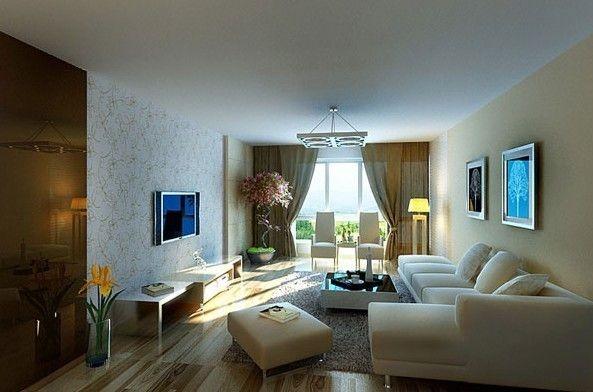 北辰香麓 280平米  简约风格 客厅设计