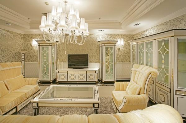 君山高尔夫别墅 客厅 沙发 照片背景墙