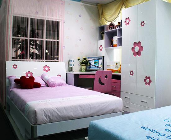 《合建装饰》  粉红色的床带你梦回童年