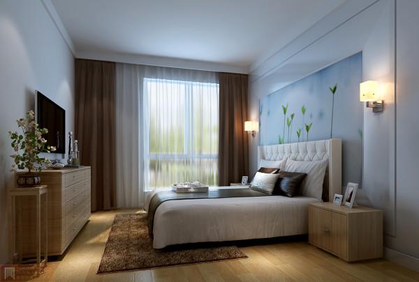 卧室不需要繁华,只需有一个温馨而又舒适的床,便是幸福