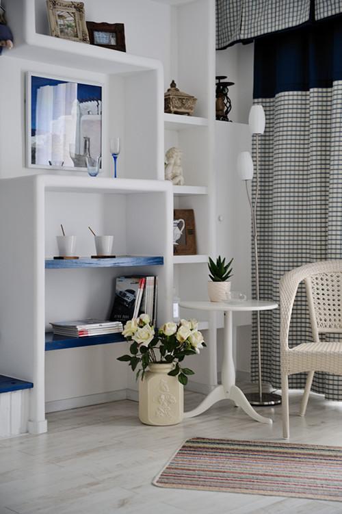 地中海风格-客厅设计