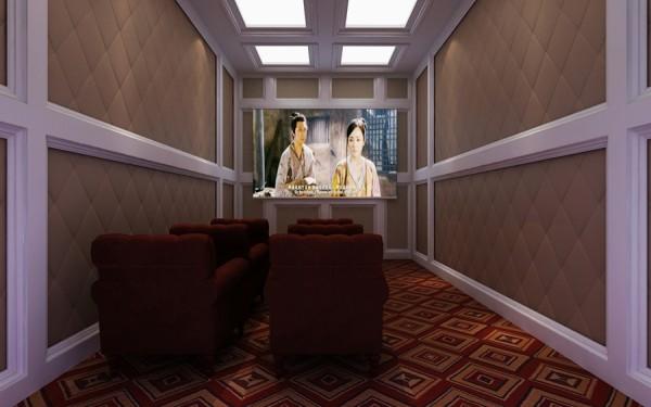家庭影院绝对封闭隔音的环境,尽享影院快感!