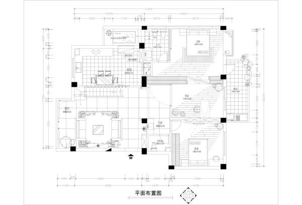 香江别墅 户型图