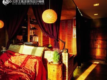 慧谷阳光50平米混搭风格设计