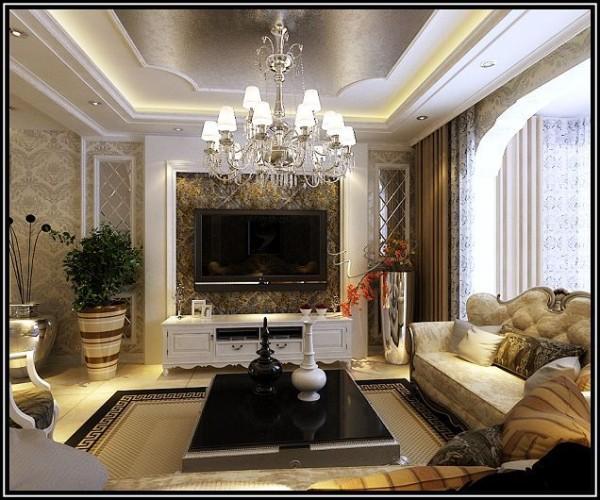 欧式设计风格-客厅设计