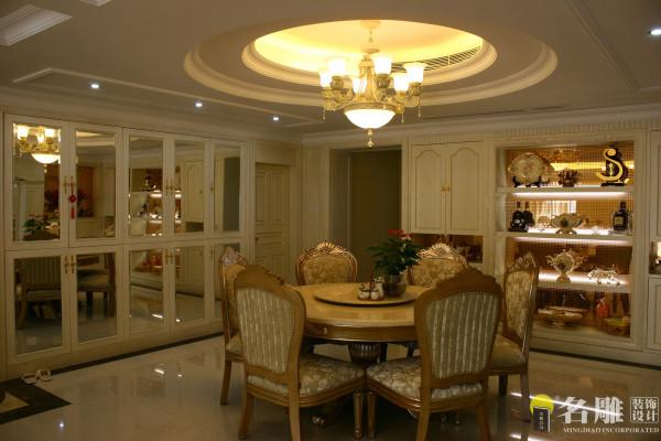 名雕装饰设计:餐厅厅