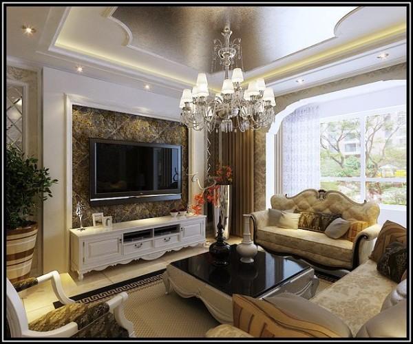 欧式风格-客厅设计