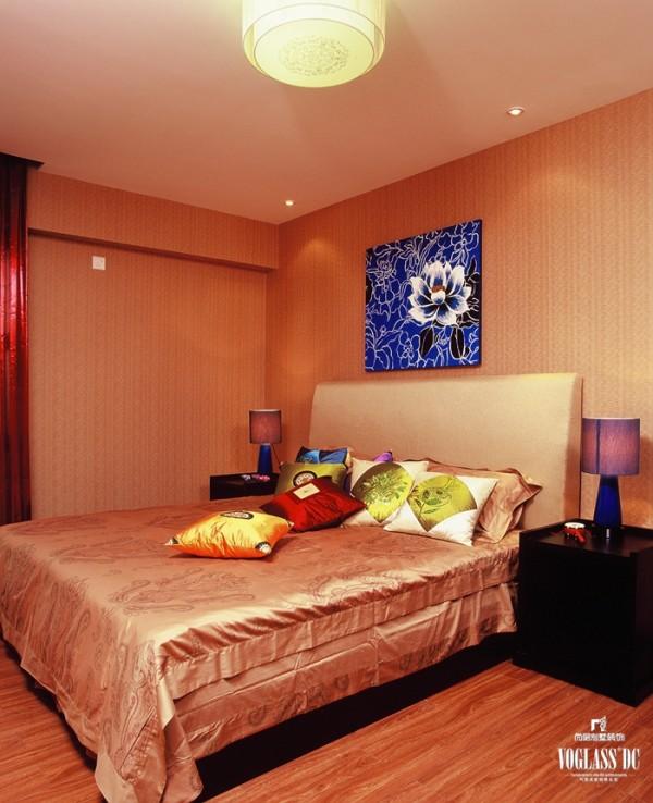 锦湖园  170平米 新中式风格  卧室设计