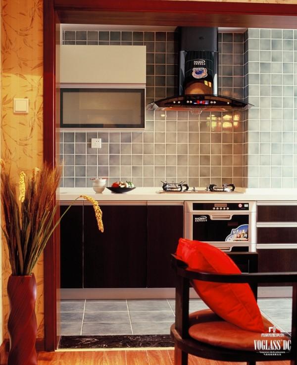 锦湖园  170平米 新中式风格  厨房设计