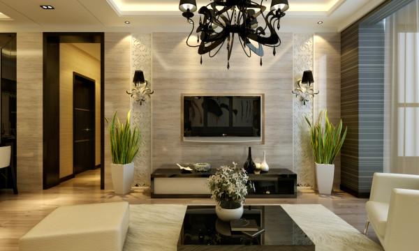 现代风格-电视背景墙设计
