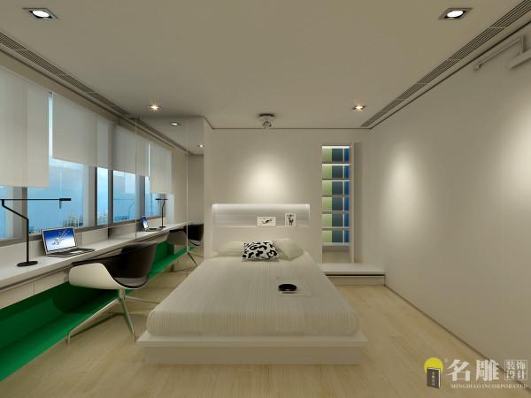 名雕装饰设计:简洁舒适卧室