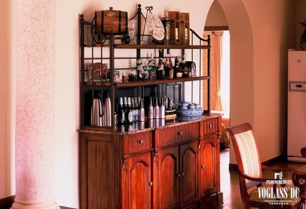 中海安德鲁斯  欧美风情 -3地85平米别墅 酒柜设计