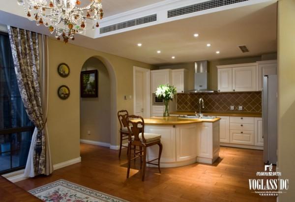 龙湖滟澜山 多一朵花儿的生活  380平米 厨房设计