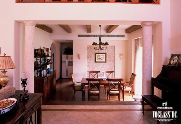 中海安德鲁斯  欧美风情 -385平米别墅 餐厅