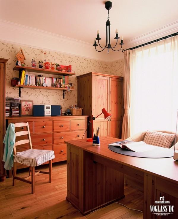 中海安德鲁斯  欧美风情 -385平米别墅 书房设计
