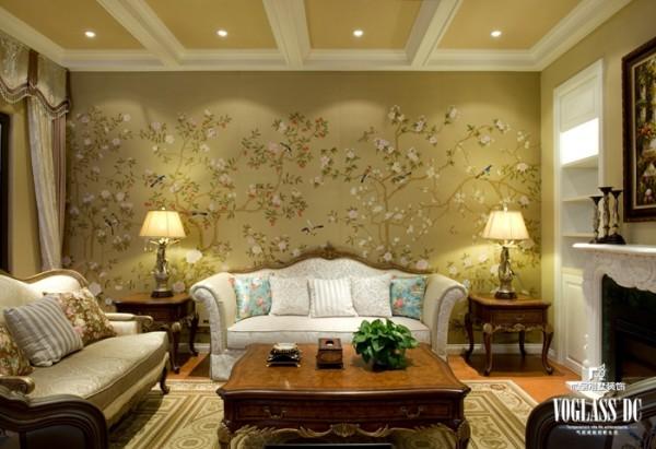 龙湖滟澜山 多一朵花儿的生活 380 起居室设计