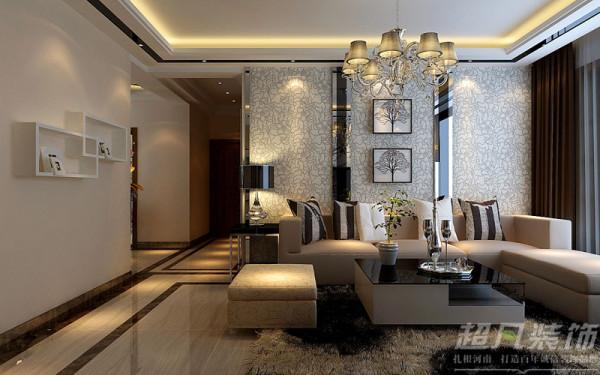 郑州阳光城119平米三室两厅现代风格---走廊效果图