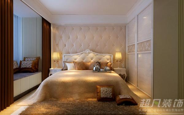 郑州阳光城119平米三室两厅现代风格---卧室效果图