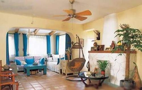 地中海混搭风格装修也能打动人心,非常有看点的一套地中海混搭风格装修。主人花费了不少心思在其中,力图打造一个舒适的家。