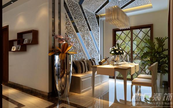 郑州阳光城119平米三室两厅现代风格---餐厅效果图