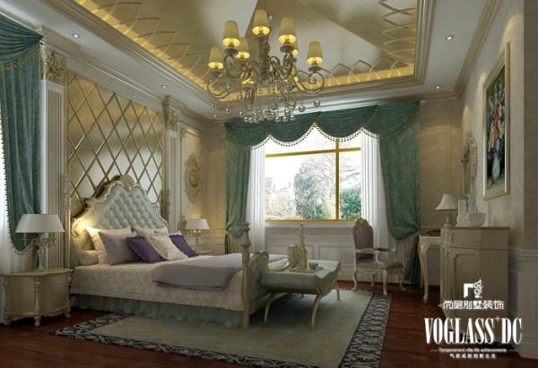 保利垄上 450平米  卧房设计 优雅矜贵