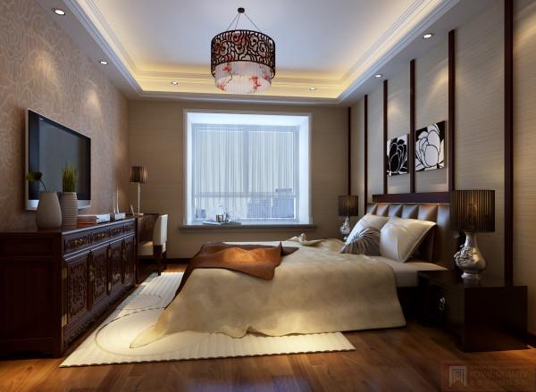 紫禁尚品装修设计案例——卧室