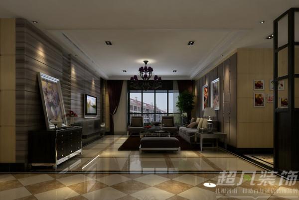 新蓝钻装修效果图/客厅装修效果图/后现代风格效果图