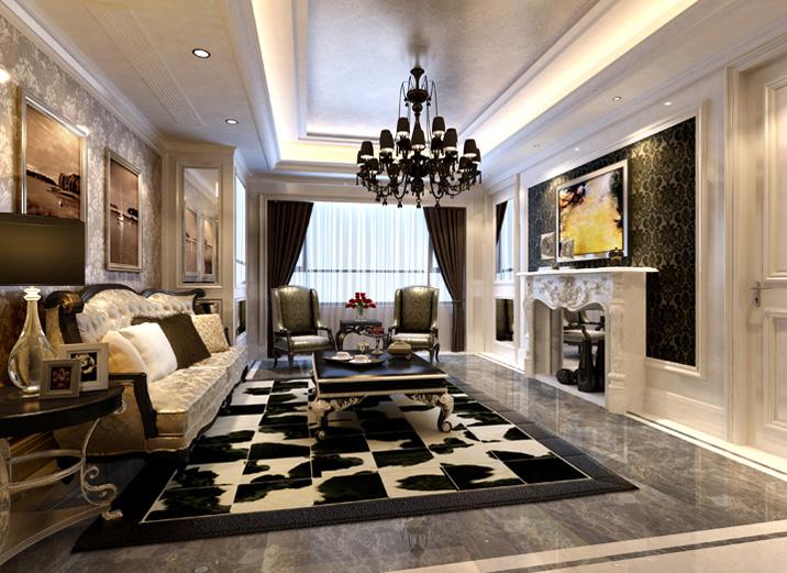 客厅全部贴瓷砖效果图,客厅可以墙面地面都贴瓷砖吗图片