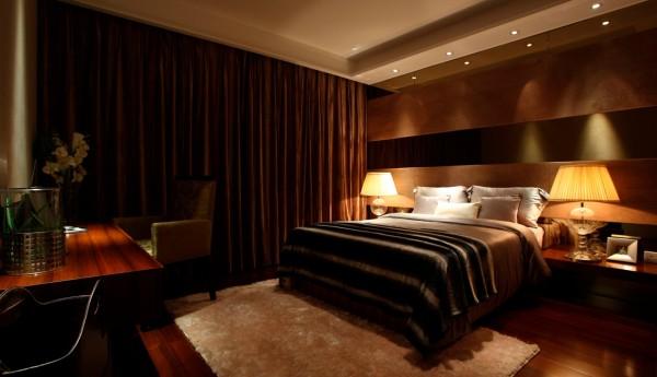 澳景园 卧室 床