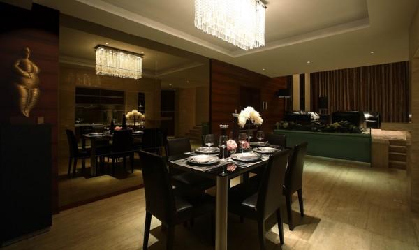 澳景园 餐厅 餐桌